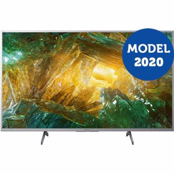 Televizor LED 123.2 cm Sony 49XH8077 4K Ultra HD Smart TV Android KD49XH8077SAEP