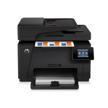 Multifunctional HP Color LaserJet Pro MFP M177fw, 16 ppm, Fax, Retea, Wi-Fi, ePrint, ADF
