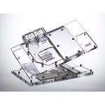 Raijintek Samos MS1080Ti Full Cover Waterblock 1080 MSI-Design