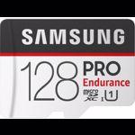 MICRO SD SAMSUNG 128GB PRO ENDURANCE + ADAPTOR SD CLASA 10 100MB/S MB-MJ128GA/EU