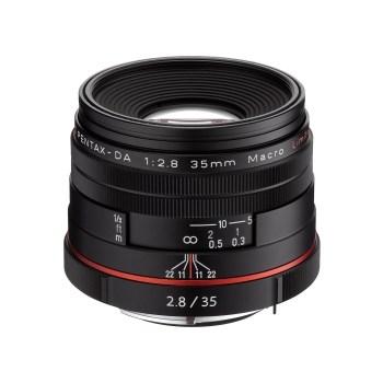 Pentax Ricoh 35mm F2.8 DA HD Macro Limited - negru