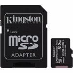Kingston 512GB micSDXC Canvas Select Plus 100R A1 C10 Card + Adaptor
