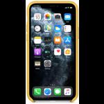 Husa Protectie Spate Apple iPhone 11 Pro Leather Case Meyer Lemon