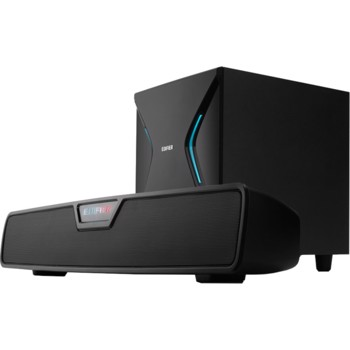 Soundbar PC cu subwoofer Edifier G7000, 86W, bluetooth, iluminare RGB, Negru