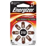 Baterie pentru aparat auditiv 7638900349245, ENERGIZER, 312, 8 bucati