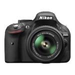 Aparat foto DSLR Nikon D5200, 24.1MP, Black + Obiectiv 18-55mm VR II