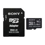 Card memorie Micro-SDHC Sony 16GB, Class 10 + Adaptor