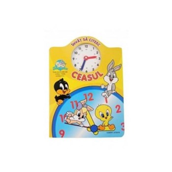 Invat sa citesc ceasul. Baby Looney Tunes