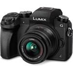 Panasonic Lumix DMC-G7 Aparat Foto Mirrorless Kit cu Obiectiv 14-42mm f/3.5-5.6 II MEGA OIS