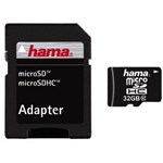 Card memorie Hama 108089 Micro SDHC 32GB, class 10 + adaptor SD