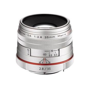 Pentax Ricoh 35mm F2.8 DA HD Macro Limited - argintiu
