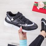 Pantofi dama sport negri cu alb Lanisa-rl