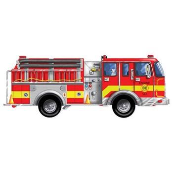 Puzzle de Podea Gigant Masina de Pompieri