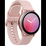 SmartWatch Samsung Galaxy Watch Active 2 (2019), 44 mm, aluminiu roz-auriu, curea silicon roz, Wi-Fi, Bluetooth, GPS, NFC, rezistent la apa
