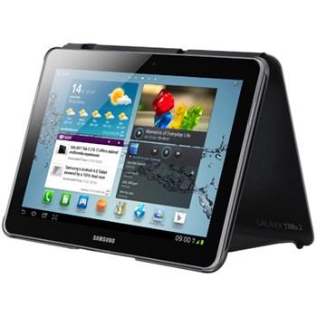 Husa Tableta Samsung Book pentru Samsung Galaxy Tab 2 P5100 10.1 inch, Dark Grey