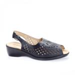 Sandale Cevoli negre cu platforma -rl
