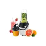 Blender 2 in 1 , Putere 1000W, HAUSBERG , Nutrition Extractor, Negru + Set cutite 3 piese CADOU
