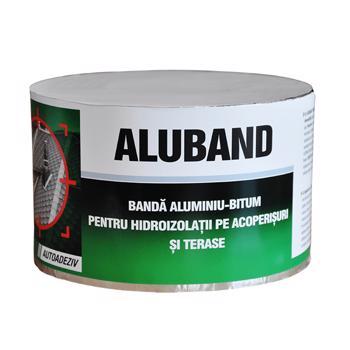 Banda bituminoasa pentru etansare sau hidroizolatii, Alu Band, 20 cm, 10 m/rola
