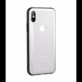 Husa Husa Benks Shiny Glass iPhone X Argintiu