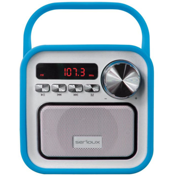 Boxa portabila Serioux Joy, Bluetooth, Albastru