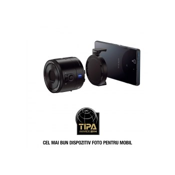 Sony Cyber-shot DSC-QX100 - camera zoom optic 3.6X pentru smartphone