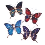 Magnet decorativ - Fluturas, Keycraft