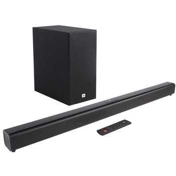 Soundbar JBL Cinema SB160 , 2.1, 220W, Wireless Subwoofer, Bluetooth, Dolby Audio, Negru