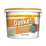 Tencuiala decorativa Danke Textur, aspect structurat, masliniu, interior/exterior, 25 kg