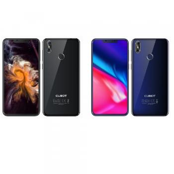 Telefon mobil Cubot P20, Android 8.0, 4GB RAM, 64GB ROM, 6.18 inch, MT6750T OctaCore, 4000mAh, Dual SIM, Amprenta