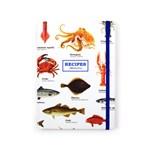 Carnet pentru retete - Sea life