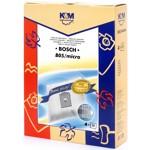 Sac Aspirator pentru Bosch/Siemens Typ K, Sintetic, 4 X Saci, K&M