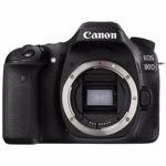 Aparat Foto DSLR Canon EOS 80D BK 24.2MP WiFi Body AC1263C010AA