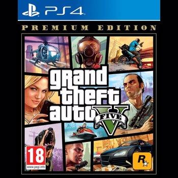 Joc GRAND THEFT AUTO 5 PREMIUM EDITION - PS4 PS4X-0601