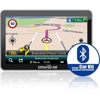 "Sistem de Navigatie Smailo HD 5.0, Ecran TFT LCD 5"", Procesor 800 MHz, Microsoft WinCE 6.0, Fara Harta"