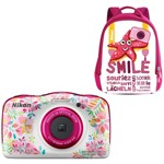Aparat foto digital Nikon COOLPIX WATERPROOF W150, Backpack Kit, Flowers