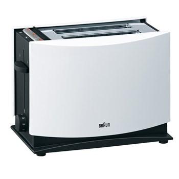 Prajitor de paine BRAUN MultiToast HT400, 1000W, alb