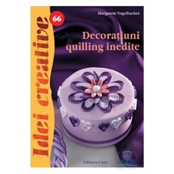 Idei creative 66 - Decoratiuni quilling inedite - Margarete Vogelbacher