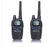 Statie radio PMR/LPD portabila Midland G7 PRO model NOU set cu 2 buc 8 Canale 6km Negru c1090.06