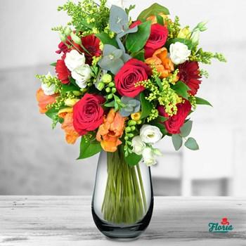 Buchet de flori - O femeie minunata