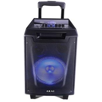 Boxa portabila cu BT, USB, Radio FM, lumini disco, microfon fara fir