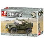 Sluban Army - Masina de patrulare, 121 piese