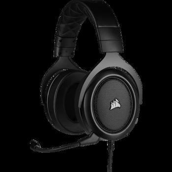 Casti gaming Corsair HS50 PRO Stereo, Carbon