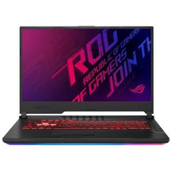 "Laptop Gaming ASUS ROG Strix G G731GU-EV191, Intel Core i7-9750H pana la 4.5GHz, 17.3"" Full HD, 8GB, SSD 512GB + HDD 1TB, NVIDIA GeForce GTX 1660Ti 6GB, Free Dos, Negru"