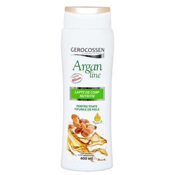 Lapte de corp nutritiv Argan Line 400 ml