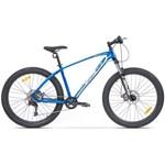 "Bicicleta Pegas MTB Fat Bike Drumuri Grele 17"", Albastru/Alb"