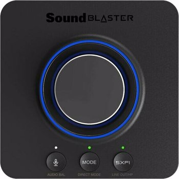 Placa de sunet Creative Sound Blaster X-3 Hi-Res 7.1 External Super X-Fi Amp 70sb181000000