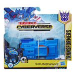 Figurine / Figurina Transformers Cyberverse Step Charger Soundwave