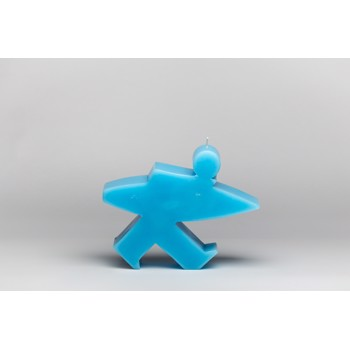 Surfman Candle