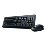 Kit tastatura si mouse Genius KM-160  USB - Black
