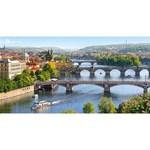 Puzzle Pod peste Vltava - Praga, 4000 piese